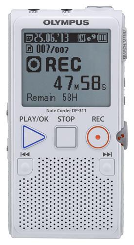 OLYMPUS DP-311 DIGITAL NOTE RECORDER