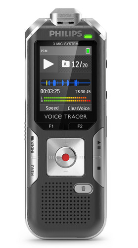 DVT 6000 - PHILIPS VOICE TRACER DIGITAL RECORDER  - LECTURE AND INTERVIEW RECORDING