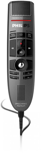 LFH 3500 - PHILIPS SPEECHMIKE PREMIUM USB DICTATION MICROPHONE - PUSH BUTTON OPERATION