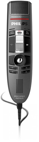 LFH 3610 - PHILIPS SPEECHMIKE PREMIUM USB DICTATION MICROPHONE - SLIDE SWITCH OPERATION WITH INTEGRATED BARCODE SCANNER