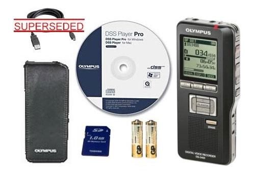 DS3400 - OLYMPUS DS 3400 DIGITAL DICTAPHONE