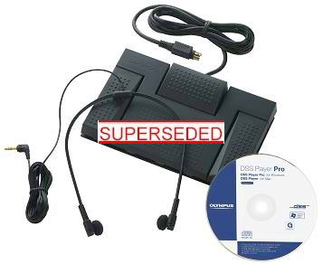 OLYMPUS AS-5000 DIGITAL TRANSCRIPTION KIT