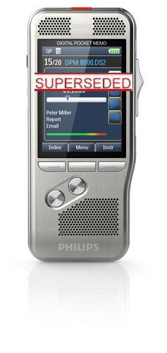 DPM 8000 SERIES - PHILIPS DIGITAL POCKET MEMO - DPM8000, DPM8100, DPM8500