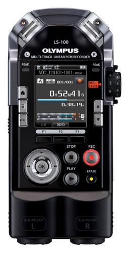 OLYMPUS LS-100 LINEAR PCM RECORDER