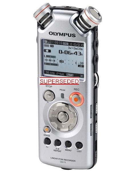 OLYMPUS LS-11 PCM DIGITAL RECORDER