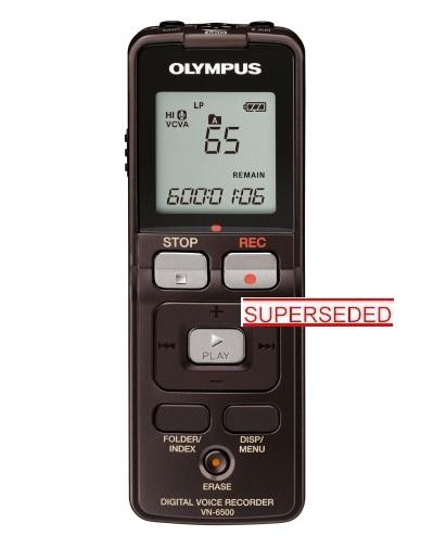 OLYMPUS VN-6500 DIGITAL NOTETAKER