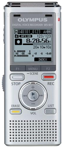 OLYMPUS WS-831 DIGITAL DICTATION DICTAPHONE VOICE RECORDER