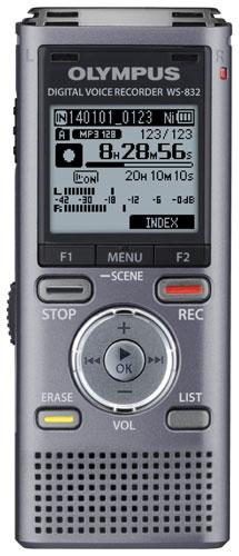 OLYMPUS WS-832 DIGITAL DICTATION DICTAPHONE VOICE RECORDER