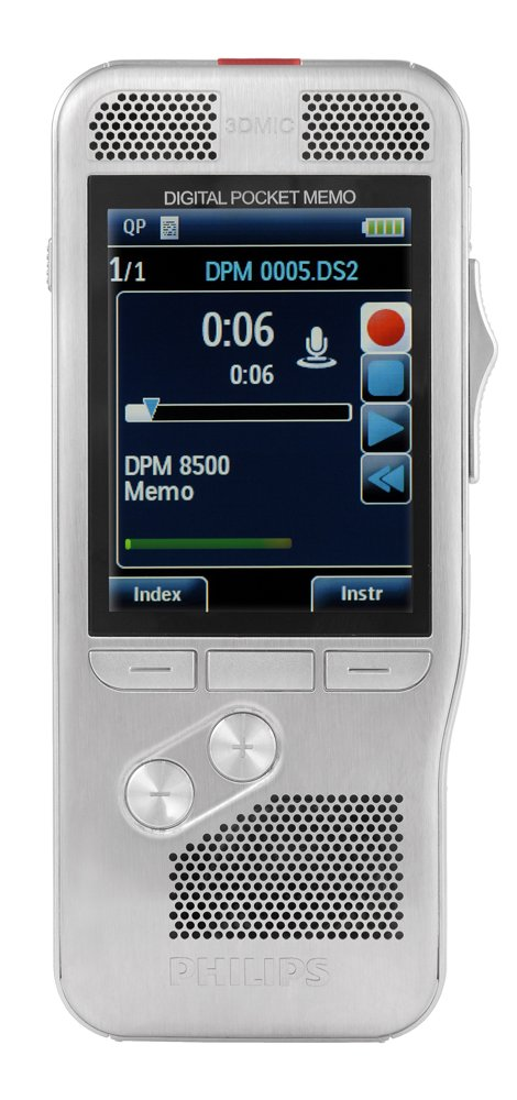 DPM 8100 - PHILIPS DIGITAL POCKET MEMO - DPM8000 SERIES