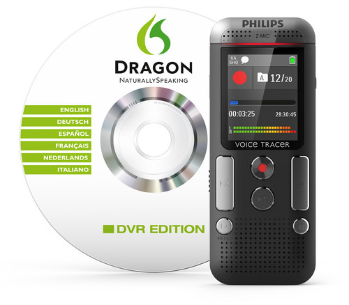 DVT 2700 - PHILIPS VOICE TRACER DIGITAL RECORDER - SPEECH TO TEXT