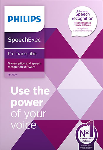 PSE4500 - SpeechExec Pro 10 - Dictation and speech recognition software