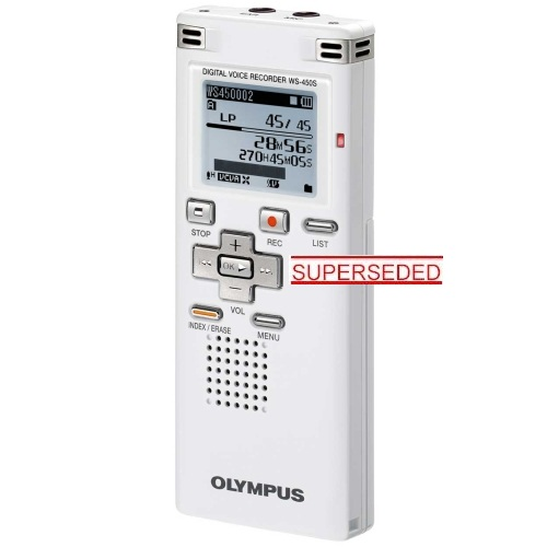 OLYMPUS WS-450S DIGITAL VOICE RECORDER