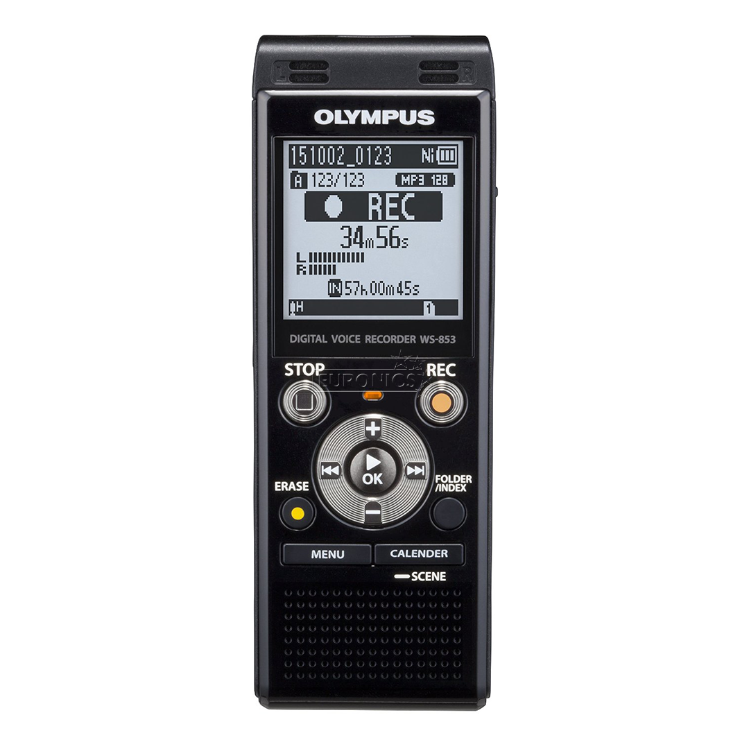 OLYMPUS WS-853 DIGITAL DICTATION DICTAPHONE VOICE RECORDER